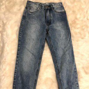 Brandy Melville Blue Mom Jeans